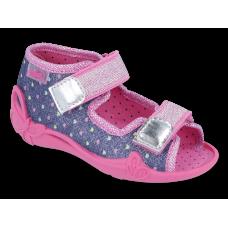 BEFADO 242P093 FLEXI-B SYSTEM, sandałki, kapcie dla dzieci