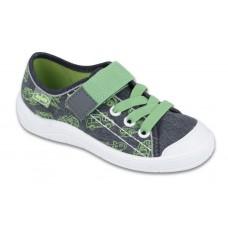 BEFADO 251x119 Trampki, Tenisówki,  grafitowo - zielone