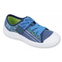 BEFADO 251x130 Trampki, Tenisówki, granatowo - niebiesko - zielone