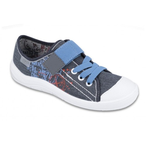 BEFADO 251y117, Trampki, Tenisówki, grafitowy jeans