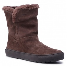 GEOX Geox - śniegowce D BREEDA E D042QE 022BH C6004 Chestnut