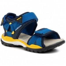 GEOX - Geox - sandały dziecięce - GEOX J BOREALIS BOY J020RC 01411 C0335 - granatowo - żółte