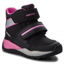 GEOX Geox - śniegowce dla dzieci - J. ORIZONT GIRL - J842BD OFU54 CO922
